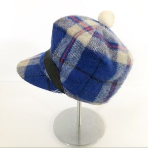 VTG Union Made Wool Plaid Cap